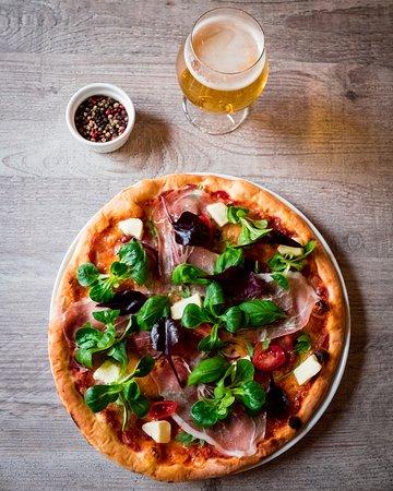 Eidsvoll, النرويج: Pizza