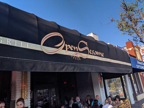 Street logo for Open Sesame.