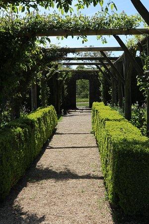 The Garden at Miserden: Attractive pergola