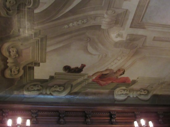 Biltmore Admission with Self-Guided Audio Tour & Lunch: part of the ceiling