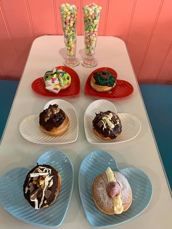 A selection of our amazing donuts!