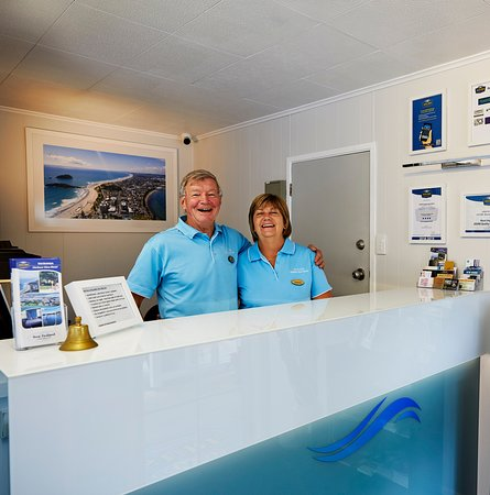 ASURE Harbour View Motel: Athol and Lorraine are passionate hosts and will ensure that your stay is comfortable and happy.