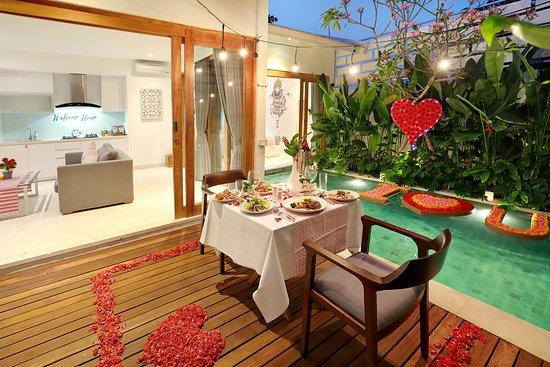 The Jimbaran Villa  - defined as secret honeymoon  experience and suitable for honeymooner