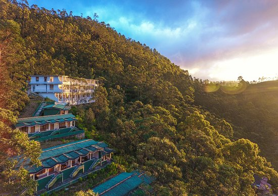 """It is of significance that both local and foreign tourists come in their hundreds of thousands to view this place. The Hotel, """"Magical Mountain Resort"""" is located at the spot where people start climbing the mountain to the sacred summit which is seen clearly, at Nallathanniya (this means clean water)."""