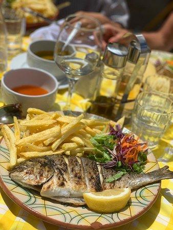 Top Lage ... top Fisch!! ein MUSS in Lissabon