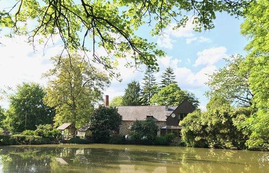 Hede, France: La Vieille Auberge - Ancien moulin au bord d'un étang privé et ombragé 🌳