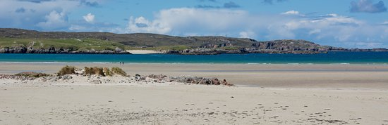 Uig Sands: The first section of beach from the car park