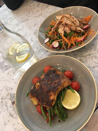 Salmon and Superfood  Salad