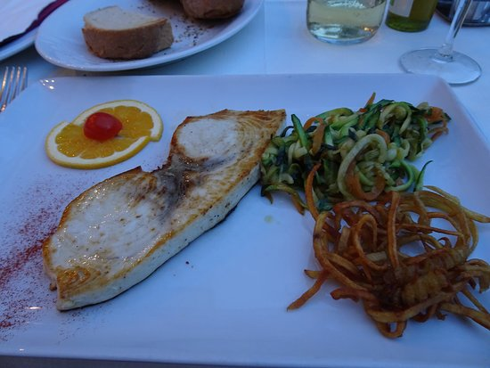Pirat: Swordfish steak meal