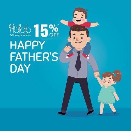 Let's celebrate father's day at Halab KL  , and enjoy 15% off this Sunday, 16 June 2019 🌹❤️ - 讓我們在Halab KL 慶祝父親節,享受2019年6月16日星期日15%的折扣🌹❤️ - كل عام وكل اب بالف خير , قم بدعوة والدك لمطعم حلب كوالالمبور  واستمتعو بخصم 15 بالمائة يوم الاحد الموافق 16 يونيو 2019 🌹❤️ - https://buff.ly/2EnFUuR  #Food #Halab #Malaysia #Shawarma #Halal #عربي #مطعم  #البيت_بيتك #FathersDay #Celebration