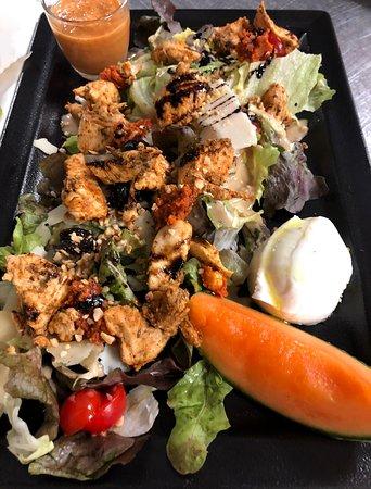 Salade toscane au poulet