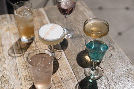 Chicama: cocktail menu