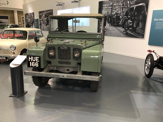 Gaydon, UK: A very famous Land Rover, first pre production one