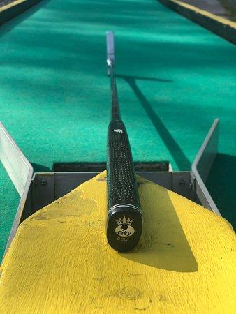Golfangen Minigolf