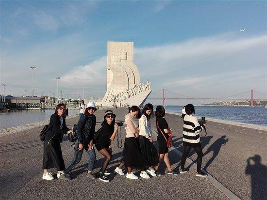 Vila Nova de Milfontes, Portugalsko: Padrao dos Descobrimentos #lisbon #women #gowithDuca #explorewithRui