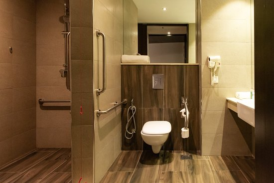 DoubleTree by Hilton Nairobi Hurlingham: Accessible Bathroom