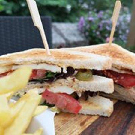 The East Gate Cafe & Brasserie: Eastgate Club Sandwich