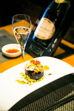 Kisen Mora: Sushi e Champagne