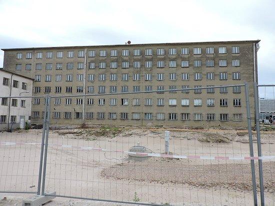 Dokumentationszentrum Prora, Binz, Isla de Rügen, Alemania.