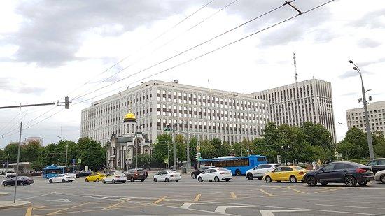 Москва, Калужская площадь. 14 июня 2019 года...
