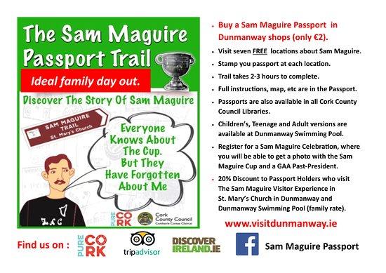 Sam Maguire Passport Trail : Sam Maguire Passport at a glance ...