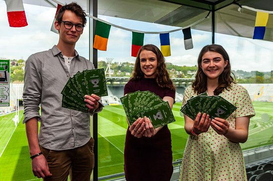 Sam Maguire Passport Trail : Passport Graphic Design Team from Cork Institute of Technology Visual Communications degree course.