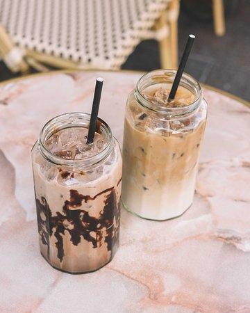 Beautiful Iced Coffees