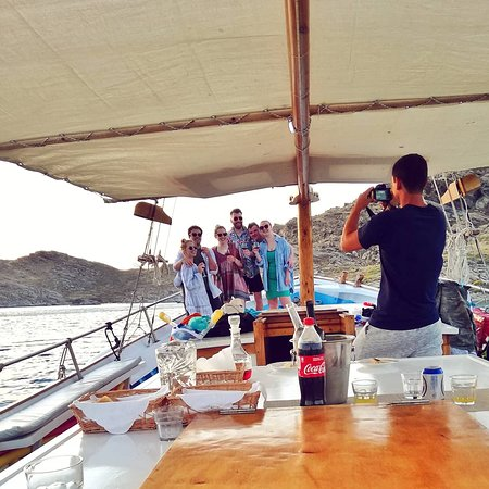 Private Sunset Cruise with Dinner #pantasoulas_daily_cruises
