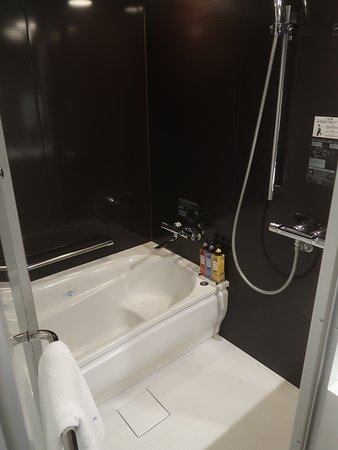 Very nice and separated shower and tub