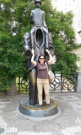 Statue of Franz Kafka: Kafkiana.