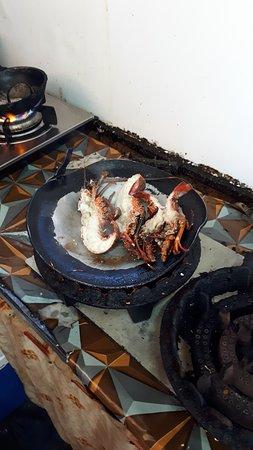 la cuisson des langoustes