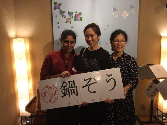 Nabezo Shinjuku 3 Chome: Thank you for coming today