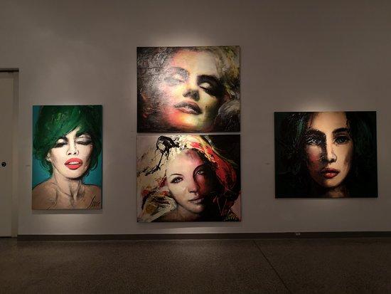 Exposition extraordinaire de la peintre Corno.