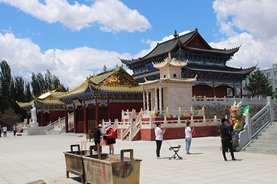 Pic of one of the many temples here.