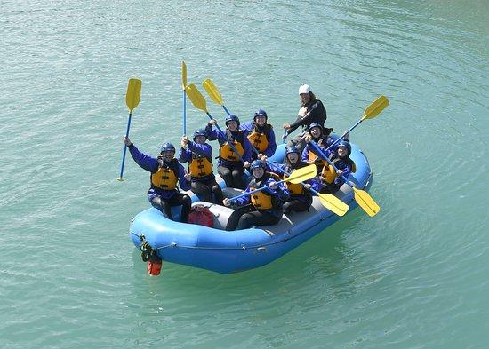 Κάνμορ, Καναδάς: Guests after their river adventure!
