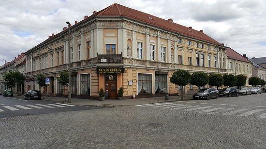 Nowy Tomysl, Polen: Restauracja SANDRA