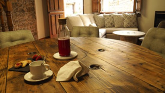 Inguanzo, إسبانيا: disfrutar de los desayunos y tranquilidad de la casa
