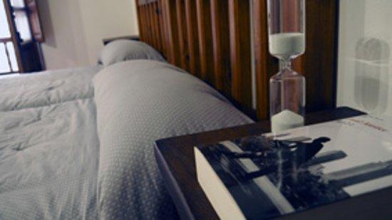 Inguanzo, สเปน: habitacion doble cama