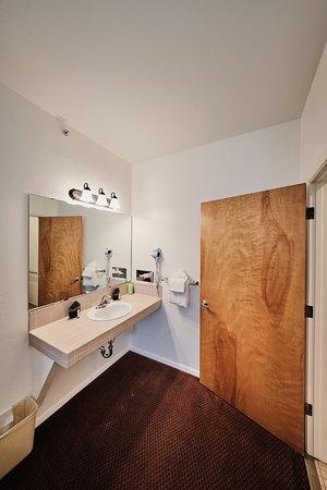 ADA vanity area