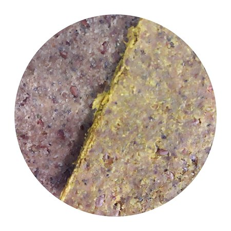 Close-up of our raw dehydrated sprouted gluten-free sandwich breads! Choose bread, spreads, toppings and enjoy!