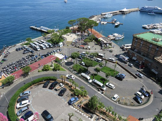 The harbour in Sorrento