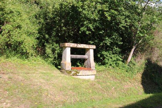 Balleure, commune d'Etrigny - Un puits