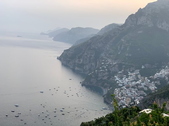 Ristorante Santa Croce: View from Santa Croce Restaurant in Nocelle, just up the road  from Positano