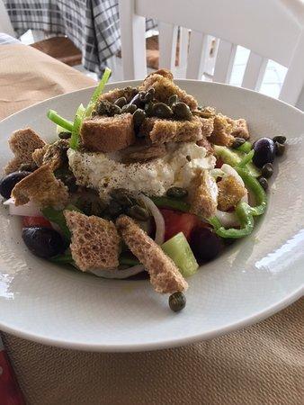 Scirocco: Naxos Salad
