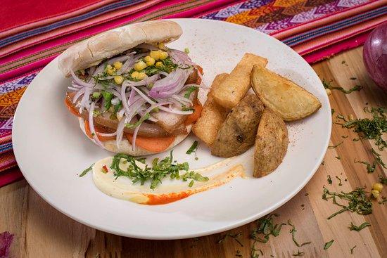 Sándwich de Chicharrón