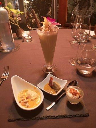 Cadre idéal pour un repas romantique