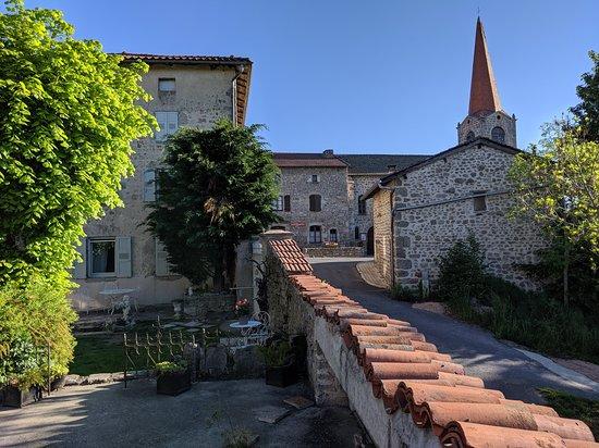 Beaune-sur-Arzon, ฝรั่งเศส: From the terrace...