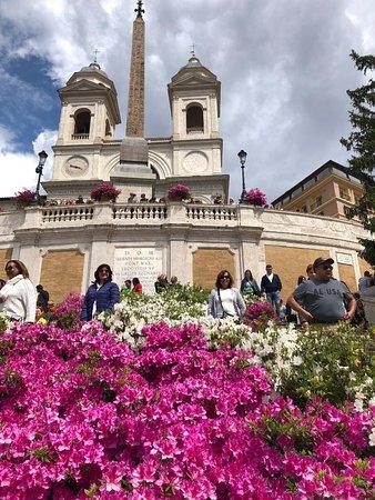 Trinita dei Monti and the Spanish Steps