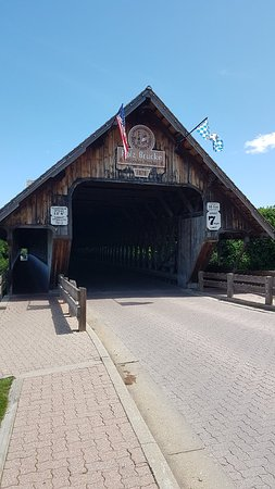 Bavarian Inn Holz Brucke Covered Bridge