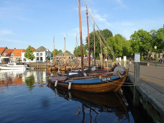 Elburg Haven met botters